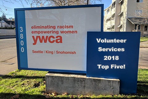 Photo of YWCA sign