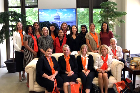 YWCA leaders meet with Maria Cantwell in Washington, D.C.