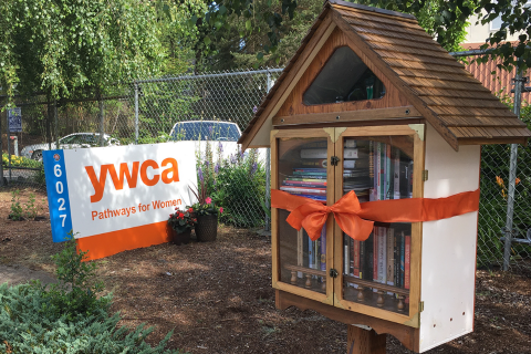 Picture of the Little Free Library in Snohomish County