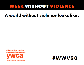 A world without violence looks like: