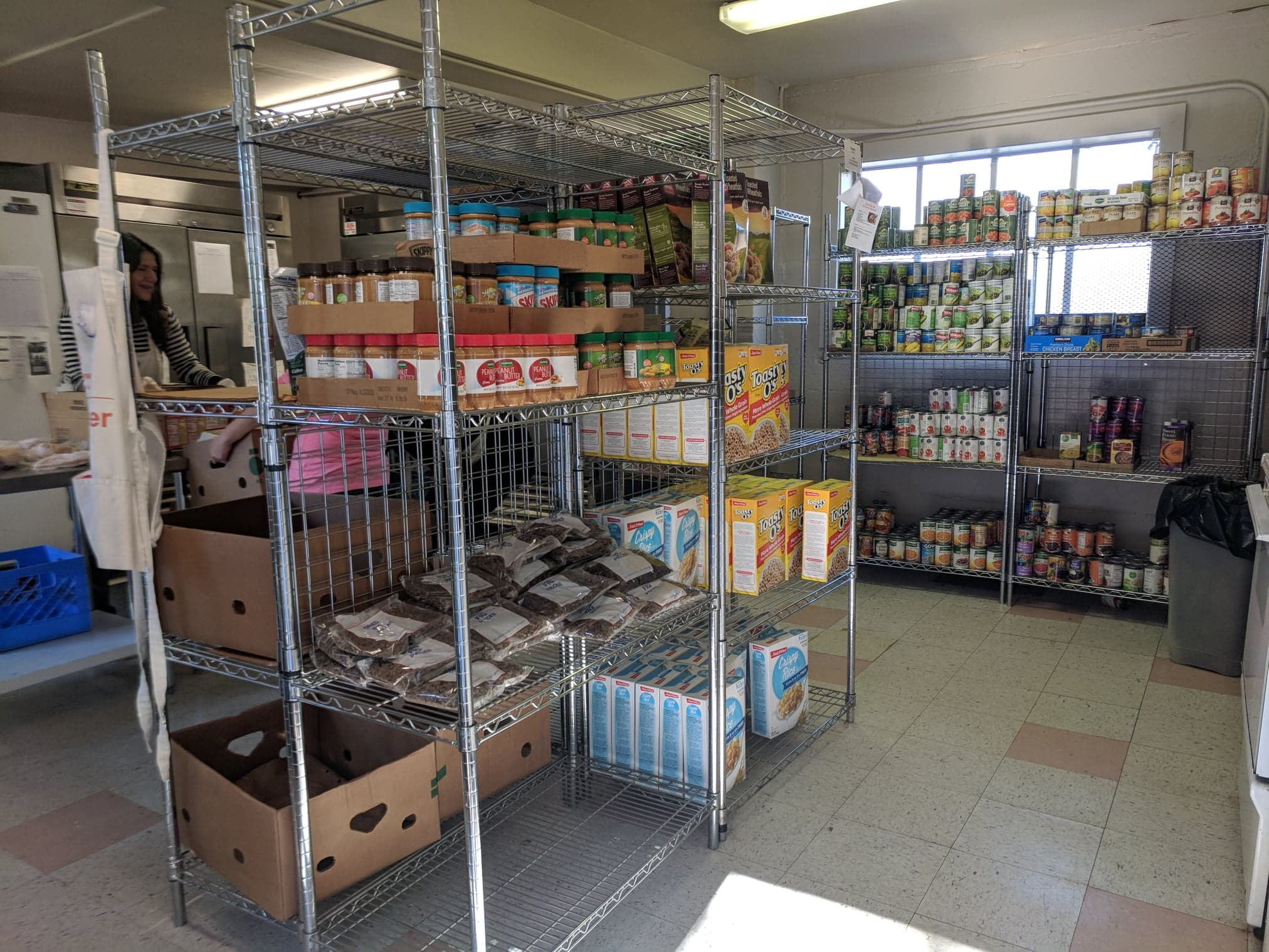 YWCA's Central Area Food Bank