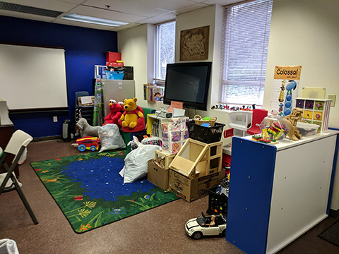 Child care center at Pathways for Women