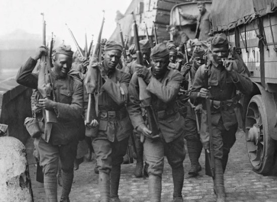 Black Soldiers in WWI