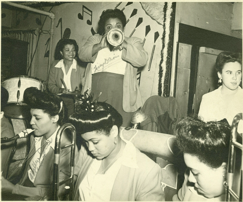 The all-women's International Sweethearts of Rhythm was an integrated jazz band that performed throughout Seattle in the 40s.