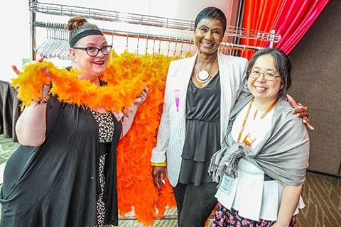 YWCA staff at the 2019 Seattle Luncheon
