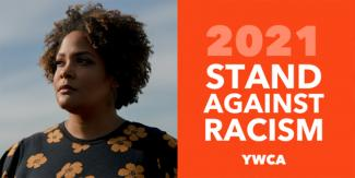 "Picture of Ijeoma Oluo with text that says ""2021 Stand Against Racism YWCA"""